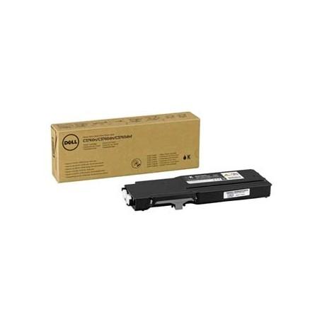 Dell originální toner 593-11111, black, 3000str., Dell C3760n, C3760dn, C3765dnf