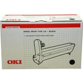 OKI Drum C5100 Type C6 black (42126608)