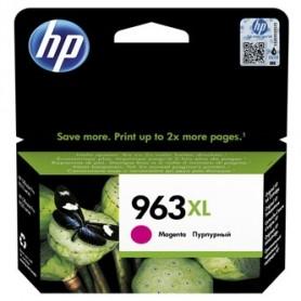 HP originální ink 3JA28AE, HP 963, magenta, 1600str., 22.92ml, high capacity, HP Officejet Pro 9010, 9012, 9014, 9015, 9016, 901