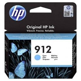 HP originální ink 3YL77AE, HP 912, cyan, 315str., high capacity, HP Officejet 8012, 8013, 8014, 8015 Officejet Pro 802