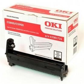 OKI Drum C5550/C5800/5900 black (43381724)