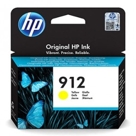 HP originální ink 3YL79AE 301, HP 912, yellow, blistr, 315str., high capacity, HP Officejet 8012, 8013, 8014, 8015 Officejet Pro