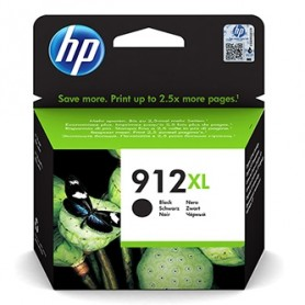 HP originální ink 3YL84AE, HP 912XL, black, 825str., high capacity, HP Officejet 8012, 8013, 8014, 8015 Officejet Pro 802