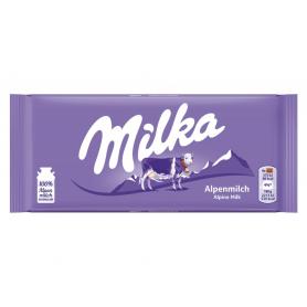 Čokoláda MILKA 100g Vás příjemně naladí