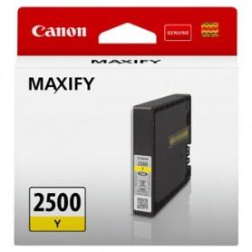 Canon originální ink PGI-2500 Y, yellow, 9.6ml, 9303B001, Canon MAXIFY iB4050,iB4150,MB5050,MB5150,MB5350,MB5450