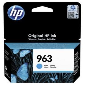 HP originální ink 3JA23AE 301, HP 963, cyan, blistr, 700str., 10.77ml, HP Officejet Pro 9010, 9012, 9014, 9015, 9016, 9019/P