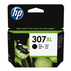 HP originální ink 3YM64AE, black, 400str., HP 307XL, Extra high yield, HP DeskJet 2300, 2710, 2720, Plus 4100