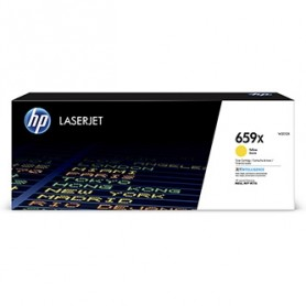 HP originální toner W2012X, yellow, 29000str., HP 659X, high capacity, HP Color LaserJet Enterprise M856dn,M856x,LaserJet En