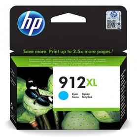 HP originální ink 3YL81AE 301, HP 912XL, cyan, blistr, 825str., high capacity, HP Officejet 8012, 8013, 8014, 8015 Officejet Pro