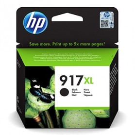 HP originální ink 3YL85AE 301, HP 917XL, black, blistr, 1500str., extra high capacity, HP Officejet Pro 8020, 8022, 8023, 8024,