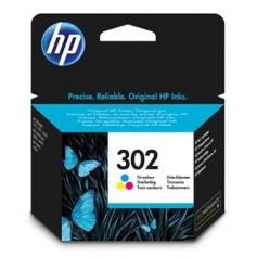 HP originalní ink F6U65AE, HP 302, color, 165/165/165str., 4ml, HP OJ 3830,3834,4650, DJ 2130,3630,1010, Envy 4520